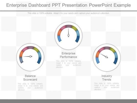 Enterprise Dashboard Ppt Presentation Powerpoint Example
