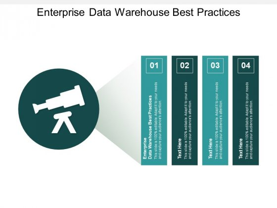 Enterprise Data Warehouse Best Practices Ppt PowerPoint Presentation Ideas Infographics Cpb