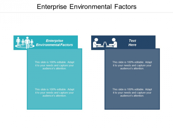 Enterprise Environmental Factors Ppt PowerPoint Presentation File Objects Cpb