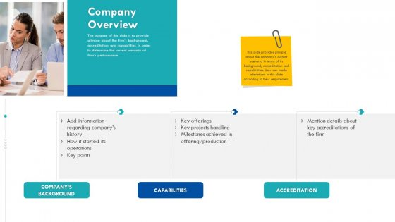 Enterprise Handbook Company Overview Ppt Infographics Example PDF