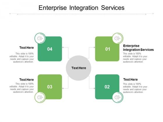 Enterprise Integration Services Ppt PowerPoint Presentation Ideas Templates Cpb Pdf