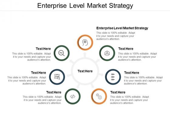 Enterprise Level Market Strategy Ppt PowerPoint Presentation Model Smartart Cpb