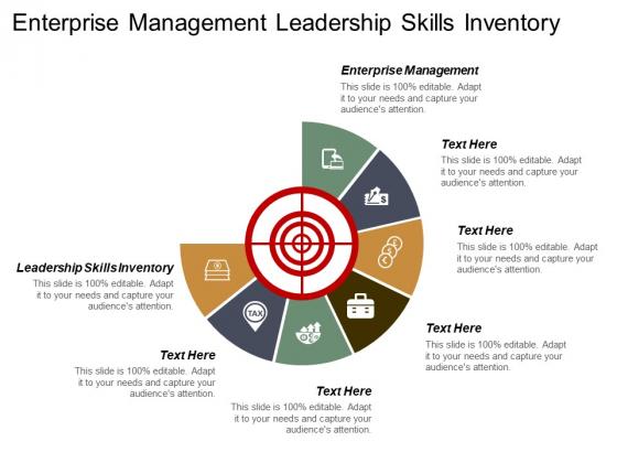 Enterprise Management Leadership Skills Inventory Ppt PowerPoint Presentation Gallery Graphics Template