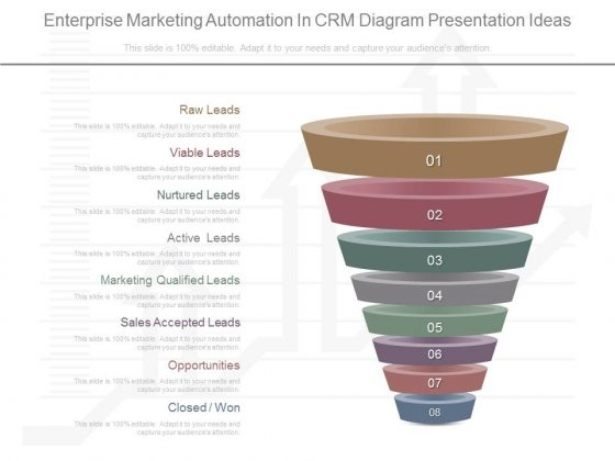 Enterprise Marketing Automation In Crm Diagram Presentation Ideas