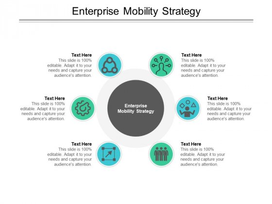 Enterprise Mobility Strategy Ppt PowerPoint Presentation Professional Visual Aids Cpb Pdf