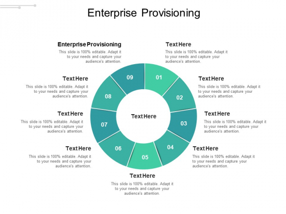 Enterprise Provisioning Ppt PowerPoint Presentation Show Grid Cpb Pdf