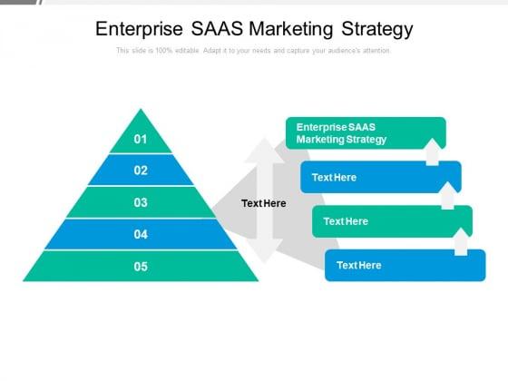 Enterprise SAAS Marketing Strategy Ppt PowerPoint Presentation File Professional Cpb