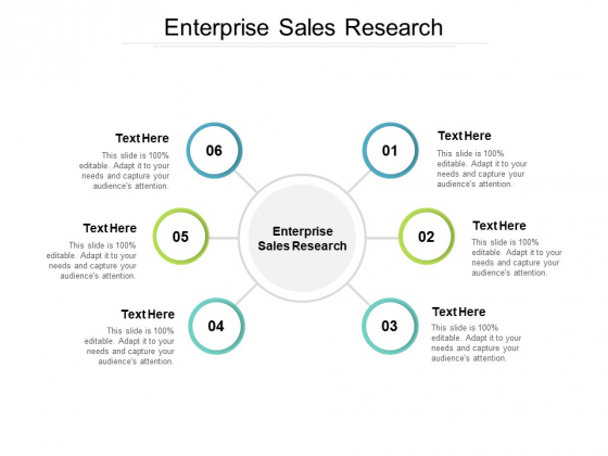 Enterprise Sales Research Ppt PowerPoint Presentation Styles Format Ideas Cpb