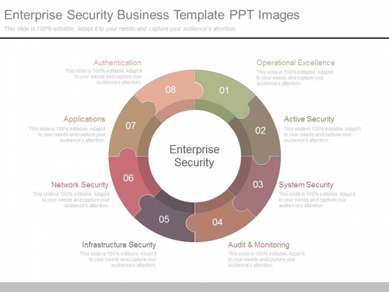 Enterprise Security Business Template Ppt Images