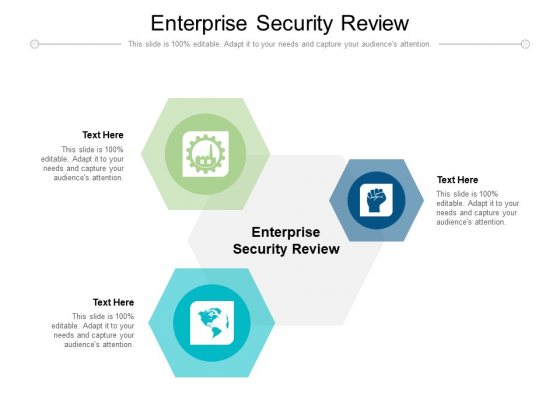 Enterprise Security Review Ppt PowerPoint Presentation File Visuals Cpb Pdf