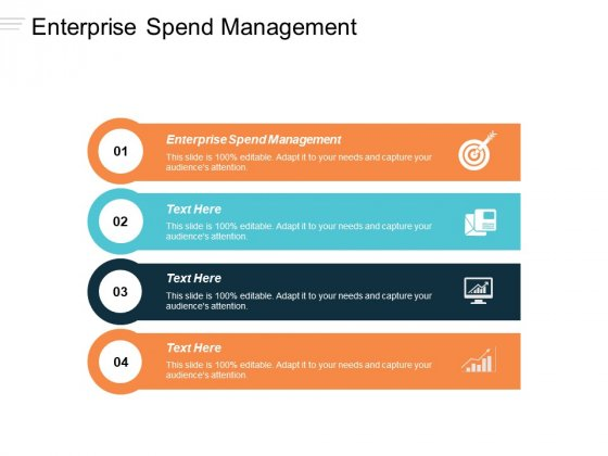 Enterprise Spend Management Ppt PowerPoint Presentation Pictures Sample Cpb