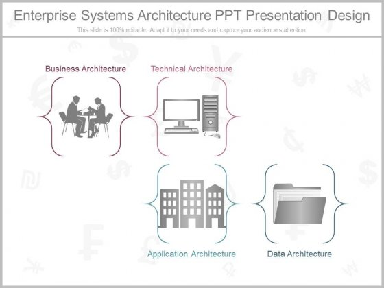 ... Enterprise Systems Architecture Ppt Presentation Design.  Enterprise_Systems_Architecture_Ppt_Presentation_Design_1