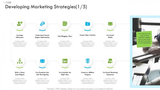 Enterprise Tactical Planning Developing Marketing Strategies Media Pictures PDF
