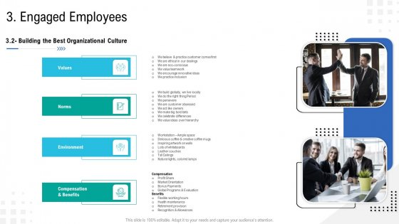 Enterprise Tasks Procedures And Abilities Quick Overview Engaged Employees Values Elements PDF