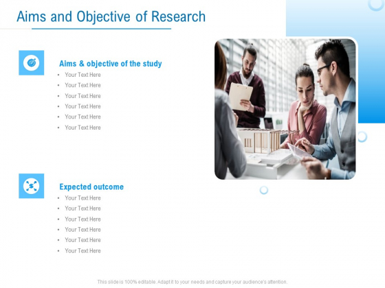 Enterprise Thesis Aims And Objective Of Research Ppt Show Inspiration PDF