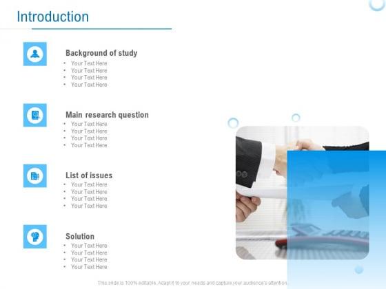 Enterprise Thesis Introduction Ppt File Visuals PDF