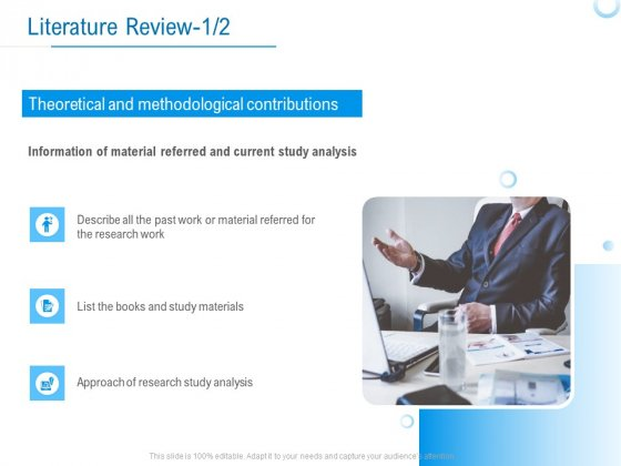 Enterprise Thesis Literature Review Analysis Ppt Infographic Template Microsoft PDF