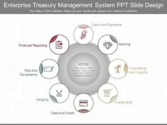 Enterprise Treasury Management System Ppt Slide Design