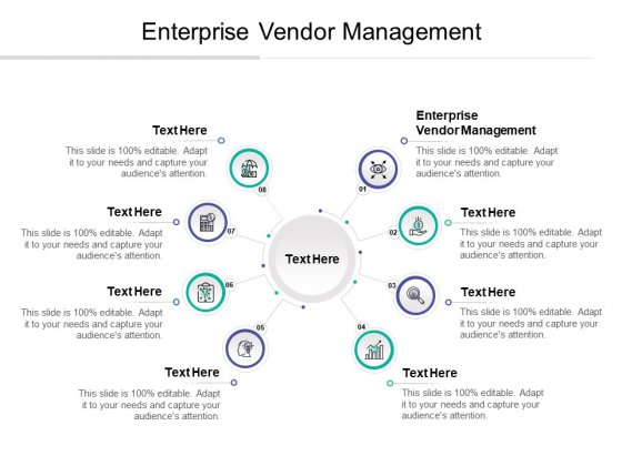 Enterprise Vendor Management Ppt PowerPoint Presentation Icon Maker Cpb