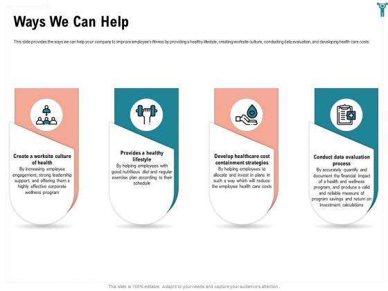 Enterprise Wellbeing Ways We Can Help Clipart PDF