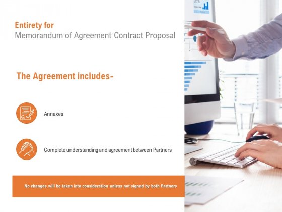 Entirety For Memorandum Of Agreement Contract Proposal Ppt PowerPoint Presentation Portfolio Mockup