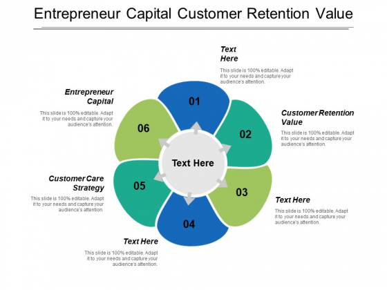 Entrepreneur Capital Customer Retention Value Customer Care Strategy Ppt PowerPoint Presentation Pictures Example Introduction
