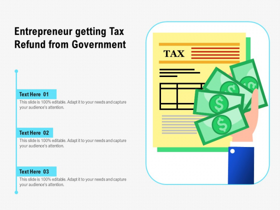 Entrepreneur_Getting_Tax_Refund_From_Government_Ppt_PowerPoint_Presentation_Gallery_Graphics_Tutorials_PDF_Slide_1