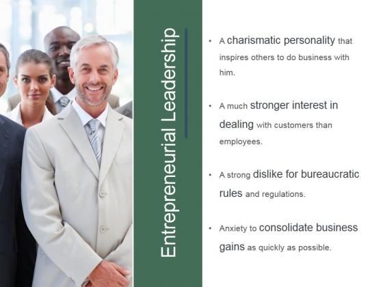 Entrepreneurial Leadership Ppt PowerPoint Presentation Templates