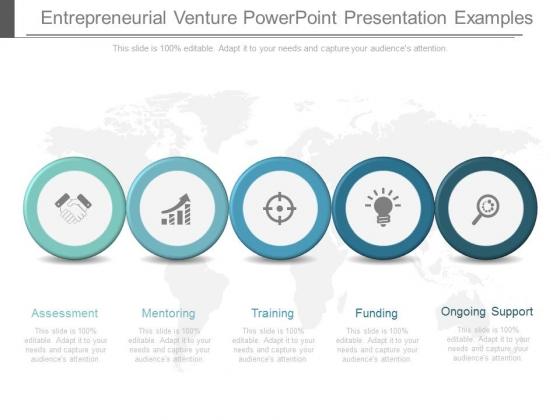 Entrepreneurial Venture Powerpoint Presentation Examples