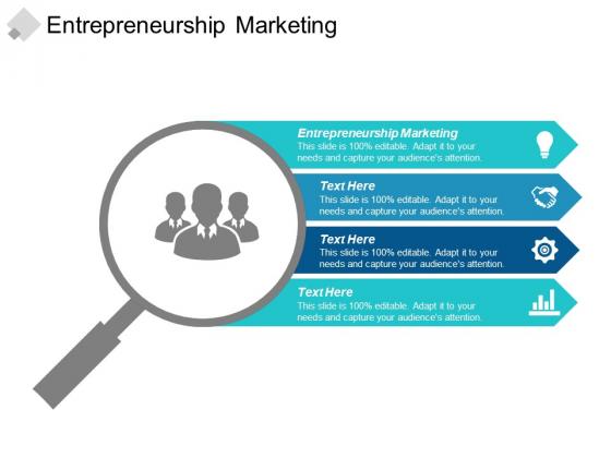 Entrepreneurship Marketing Ppt PowerPoint Presentation Pictures Portrait Cpb