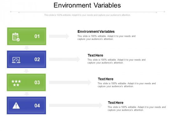 Environment Variables Ppt PowerPoint Presentation Styles Display Cpb Pdf