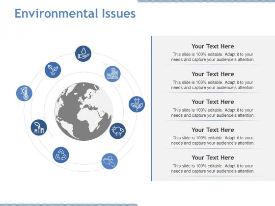 Environmental Issues Ppt PowerPoint Presentation Pictures Show