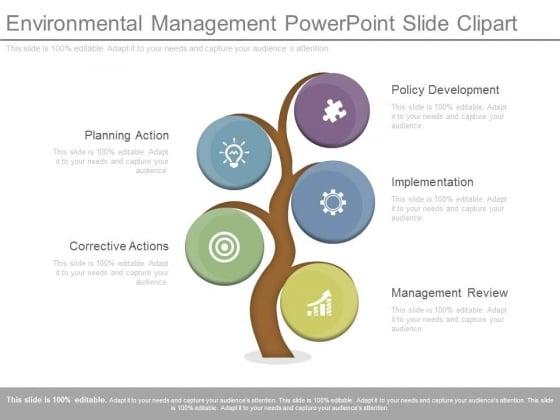 Environmental Management Powerpoint Slide Clipart