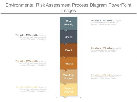 Environmental Risk Assessment Process Diagram Powerpoint Images