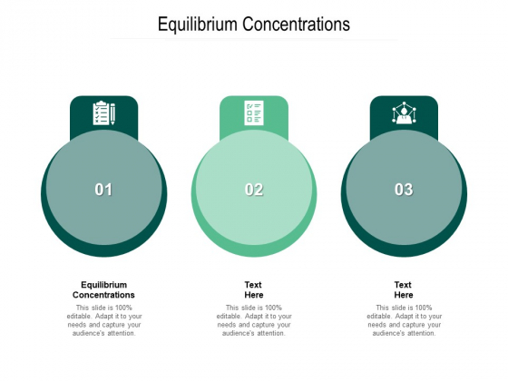 Equilibrium Concentrations Ppt PowerPoint Presentation Icon Gridlines Cpb Pdf