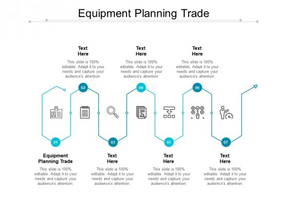 Equipment Planning Trade Ppt PowerPoint Presentation Ideas Format Cpb