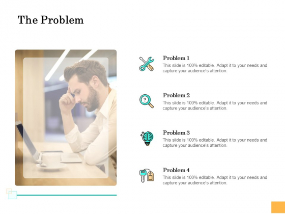 Equity Capital Funding The Problem Ppt Professional Background Designs PDF