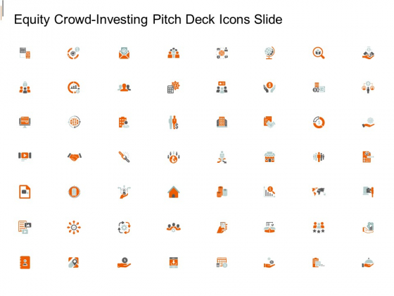 Equity Crowd Investing Pitch Deck Icons Slide Ppt Pictures Background Images PDF