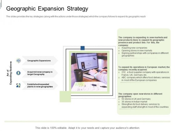 Equity Crowdfunding Pitch Deck Geographic Expansion Strategy Ppt Professional Display PDF