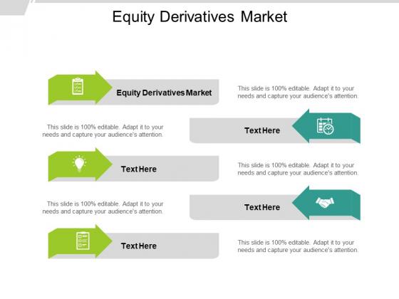 Equity Derivatives Market Ppt PowerPoint Presentation Inspiration Topics Cpb