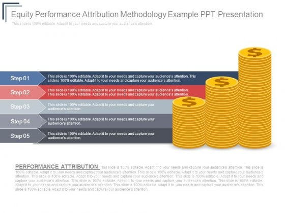 Equity Performance Attribution Methodology Example Ppt Presentation