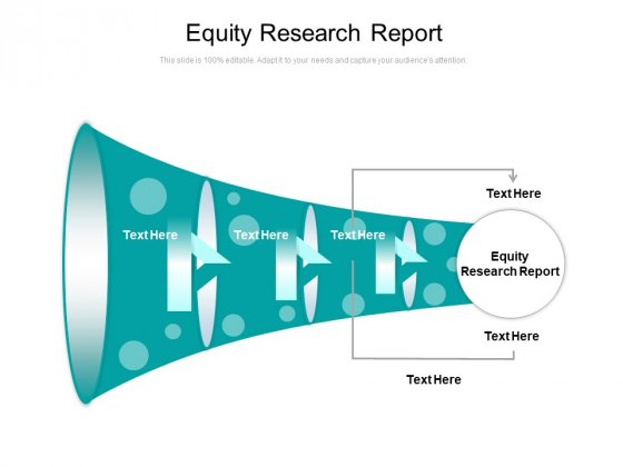 Equity Research Report Ppt PowerPoint Presentation Outline Microsoft Cpb
