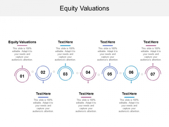 Equity Valuations Ppt Powerpoint Presentation File Templates Cpb