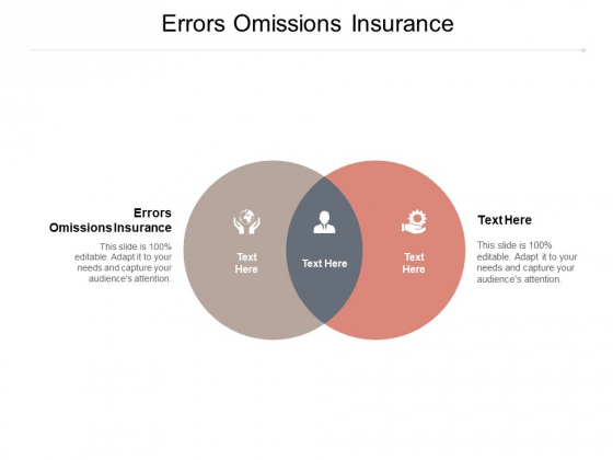 Errors Omissions Insurance Ppt PowerPoint Presentation Inspiration Maker Cpb Pdf