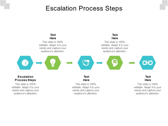 Escalation Process Steps Ppt PowerPoint Presentation Pictures Structure Cpb Pdf