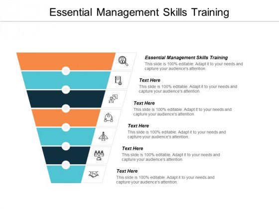 Essential Management Skills Training Ppt PowerPoint Presentation Gallery Images Cpb