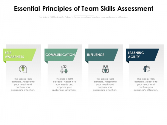 Essential Principles Of Team Skills Assessment Ppt PowerPoint Presentation Layouts Example PDF