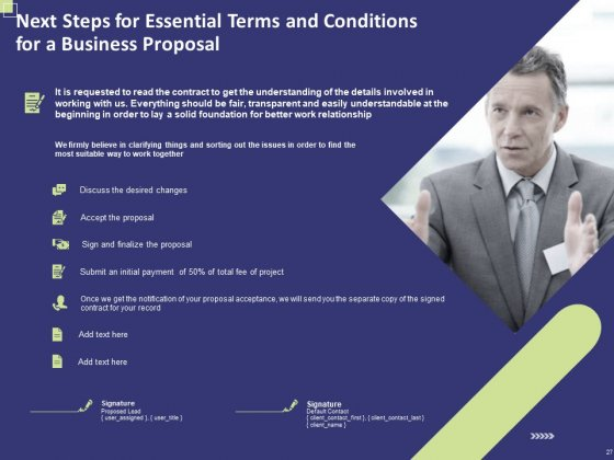 Essential_Terms_And_Conditions_For_A_Business_Proposal_Ppt_PowerPoint_Presentation_Complete_Deck_With_Slides_Slide_27