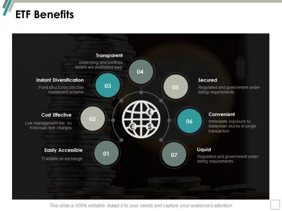 Etf Benefits Ppt Powerpoint Presentation Model Layout Ideas