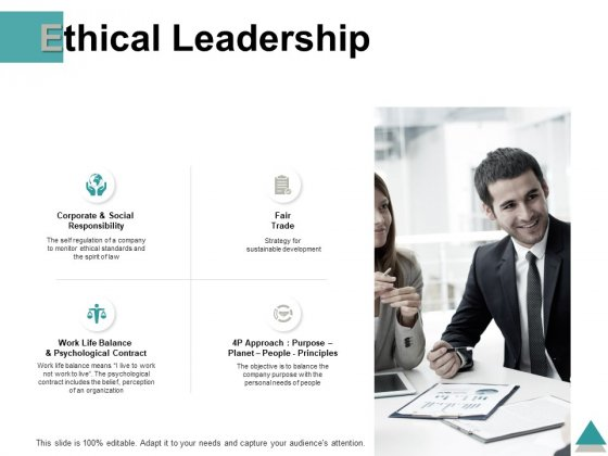 Ethical Leadership Ppt PowerPoint Presentation Model Good